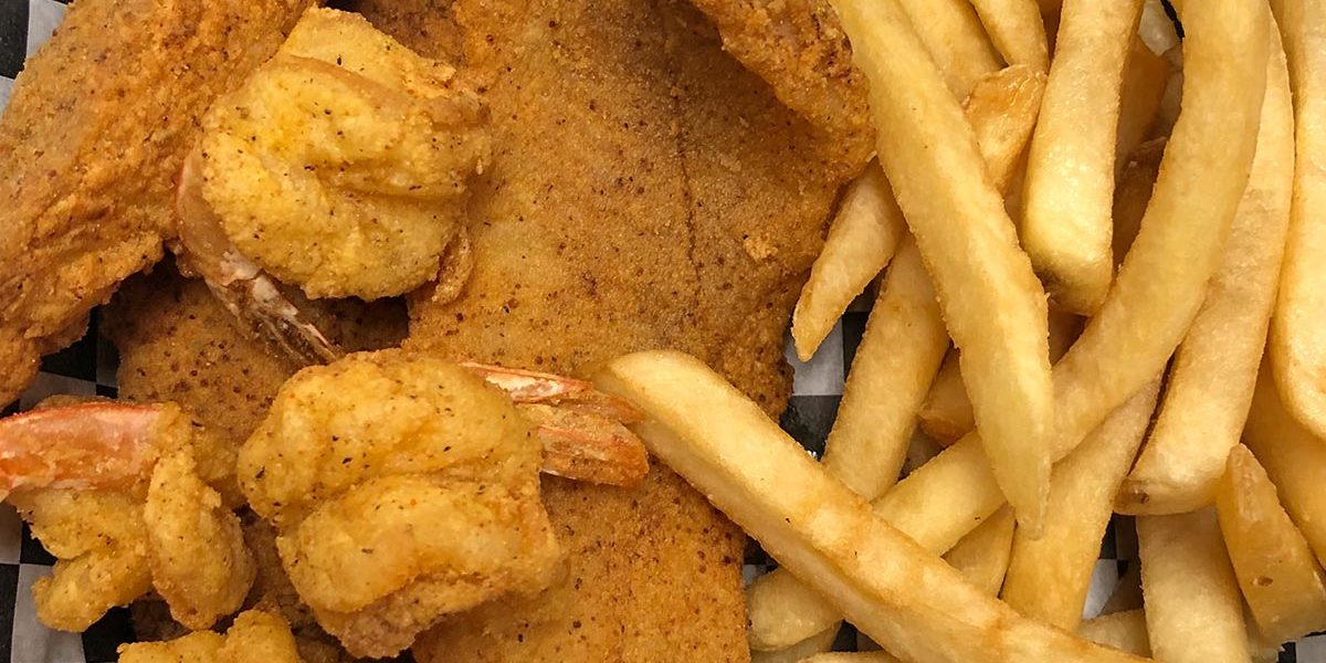 Shrimp & Catfish Combo